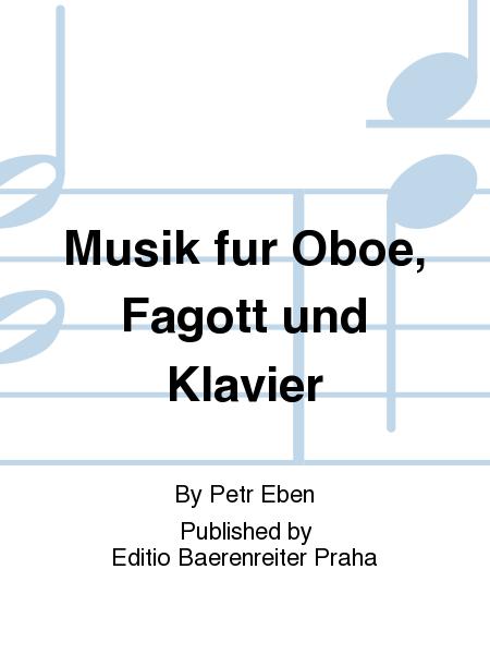 Musik fur Oboe, Fagott und Klavier