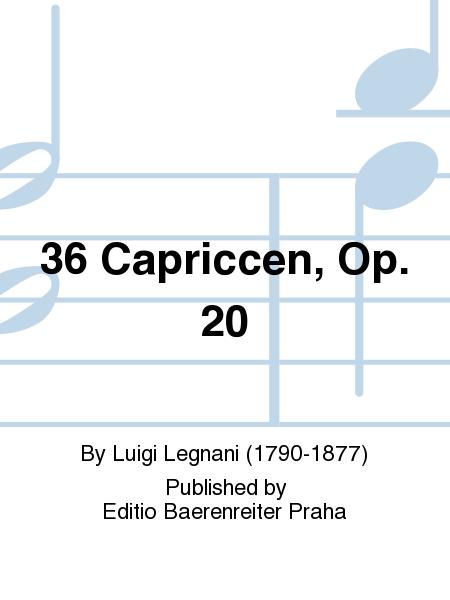 36 Capriccen, Op. 20