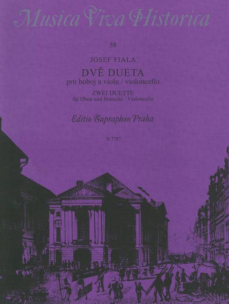 Zwei Duette fur Oboe und Bratsche / Violoncello