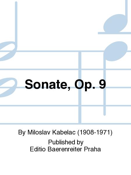 Sonate, Op. 9