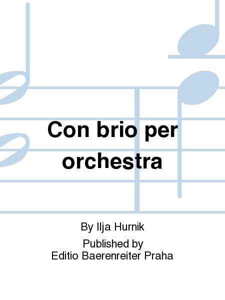 Con brio per orchestra