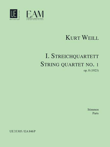 String Quartet No. 1, Op. 8