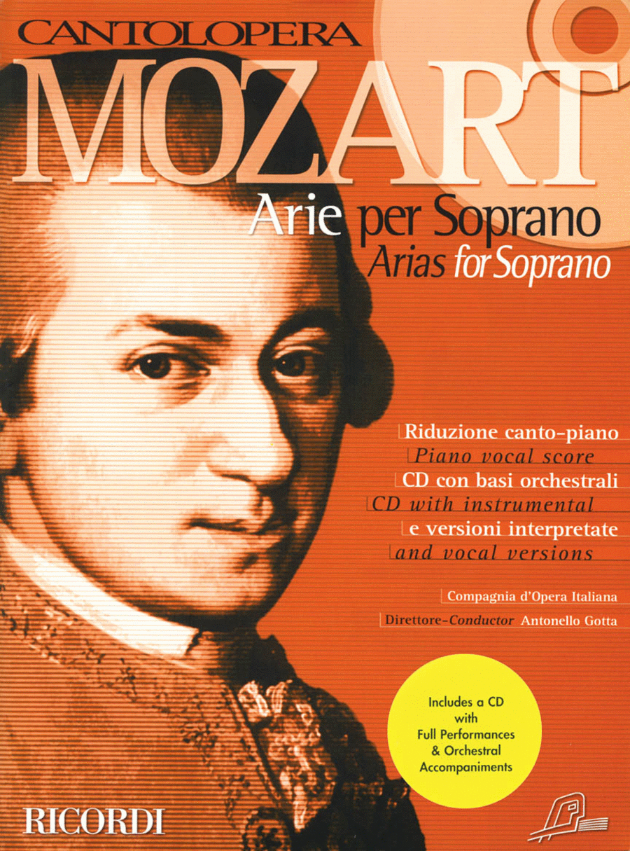 Mozart Arias for Soprano