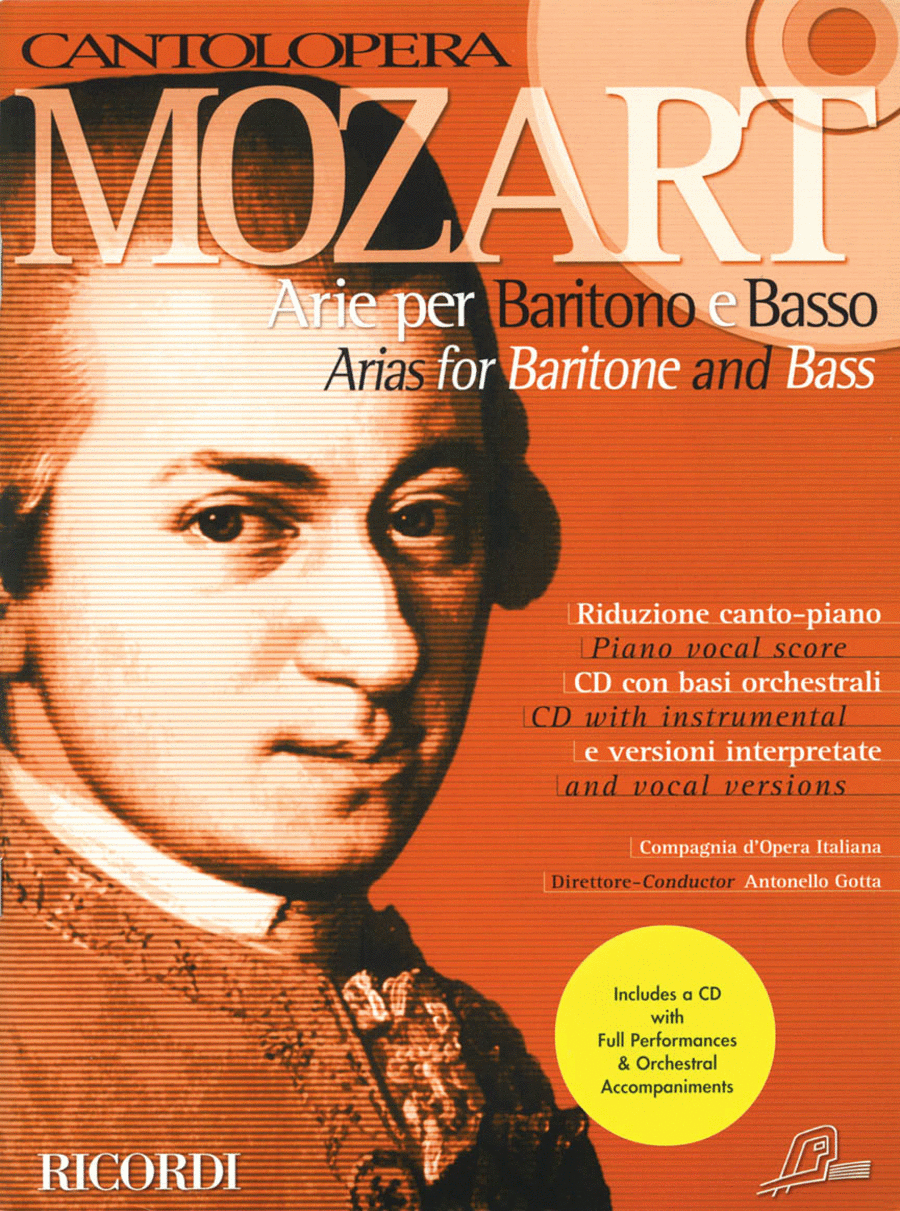 Mozart Arias for Baritone and Bass