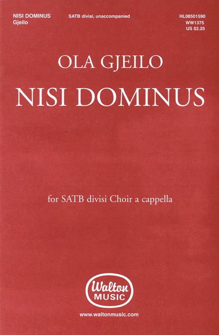 Nisi Dominus