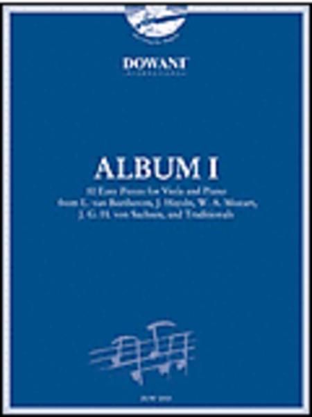 Album Vol. I (Easy) for Viola and Piano
