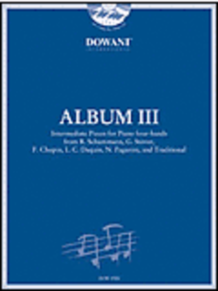 Album Vol. III (Intermediate) for Piano Four-Hands