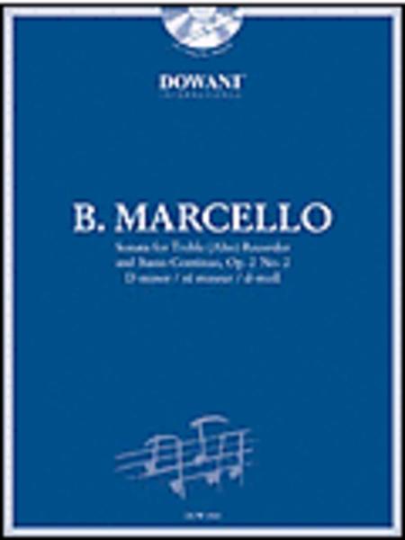 Marcello: Sonata in D Minor, Op. 2, No. 2 for Treble (Alto) Recorder and Basso Continuo