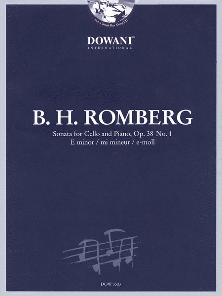 Romberg: Sonata for Cello and Piano in E Minor, Op. 38 No. 1