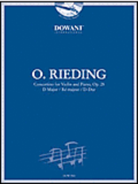 Rieding - Concertino for Violin and Piano in D Major, Op. 25
