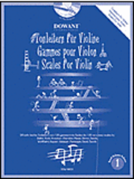 Scales for Violin, Volume 1