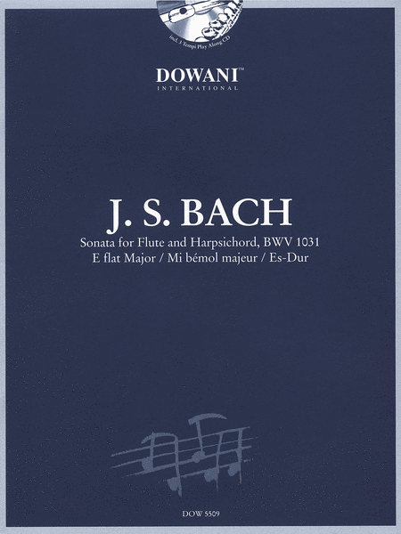 Sonata for Flute and Harpsichord in E-Flat Major, BWV 1031