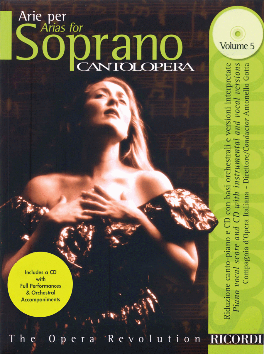 Cantolopera: Arias for Soprano - Volume 5