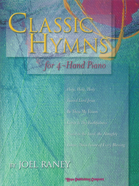 Classic Hymns For 4-hand Piano