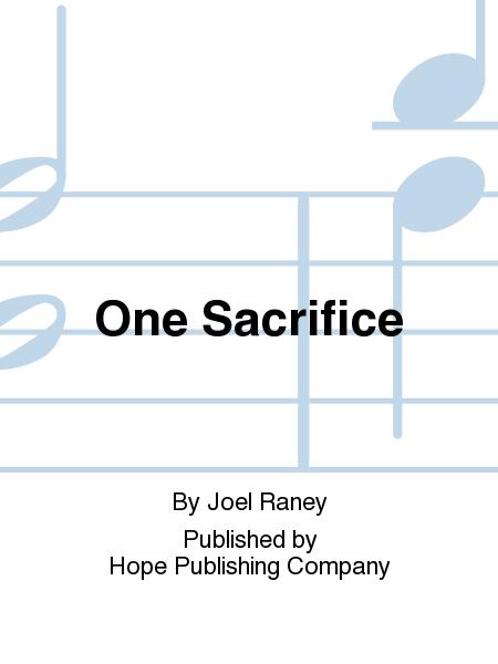 One Sacrifice