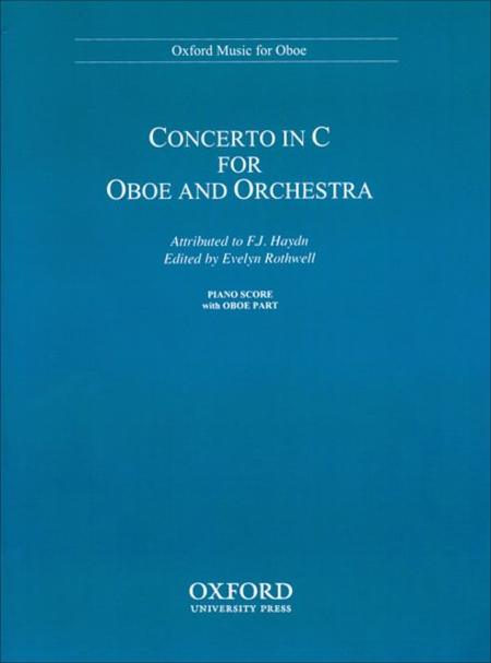 Concerto In C For Oboe & Orchestra