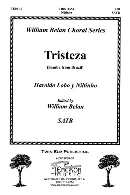 Tristeza - Samba from Brazil