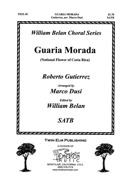 Guaria Morado