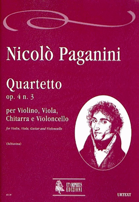 Quartet Op. 4 No. 3