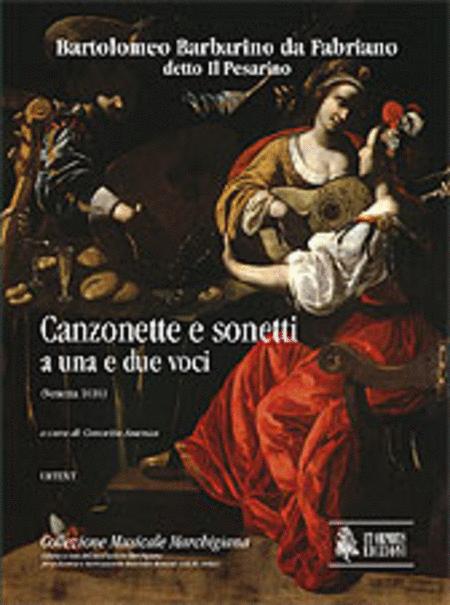 Canzonette e sonetti a una e due voci (Venezia 1616)