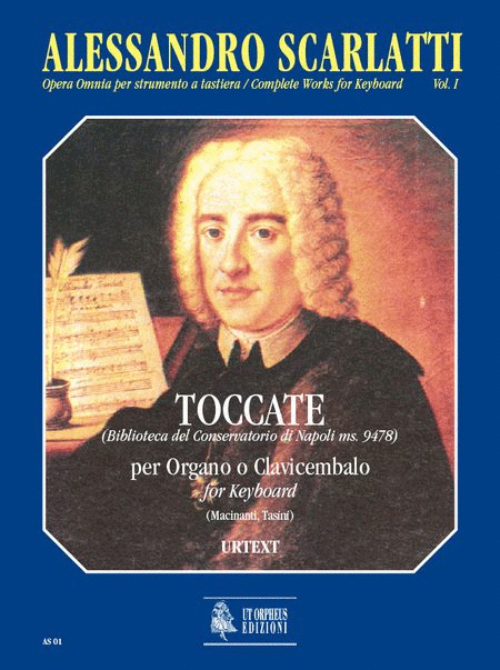 Complete Works for Keyboard. Vol. 1: Toccatas (Biblioteca del Conservatorio di Napoli ms. 9478)
