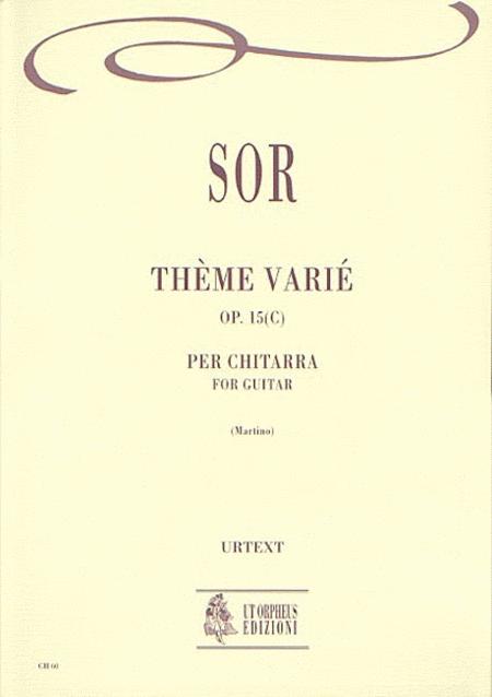 Theme Varie Op. 15(c)