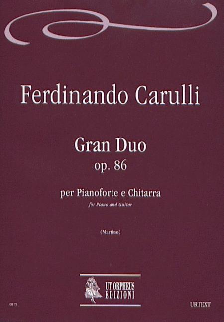 Gran Duo Op. 86