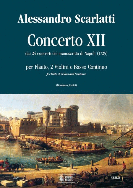 Concerto No. 12 from the 24 Concertos in the Naples manuscript (1725)