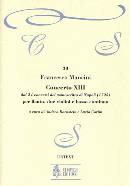 Concerto No. 13 from the 24 Concertos in the Naples manuscript (1725)