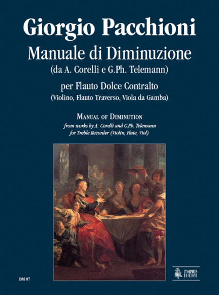 Manuale di Diminuzione from works by A. Corelli and G. Ph. Telemann