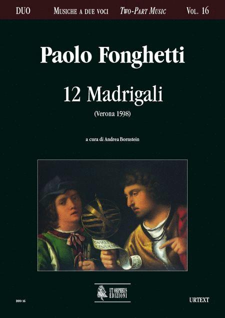12 Madrigali (Verona 1598)