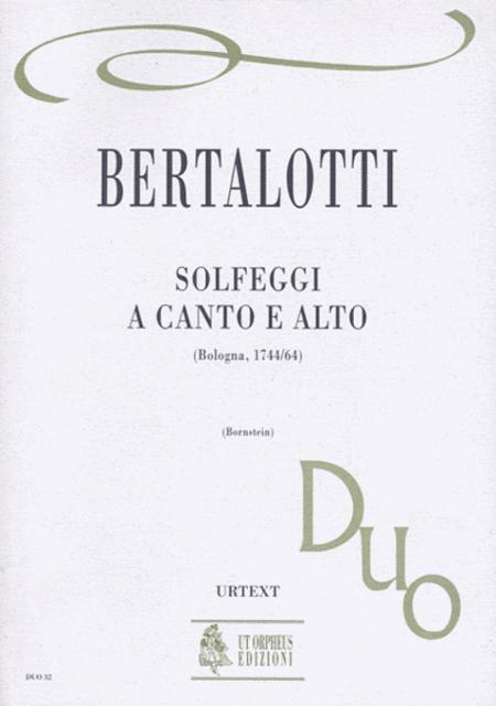 Solfeggi a Canto e Alto (Bologna 1744/64)