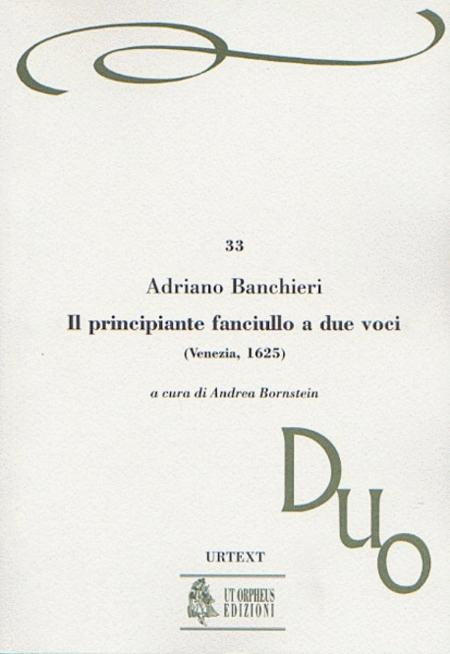 Il principiante fanciullo a due voci (Venezia 1625)