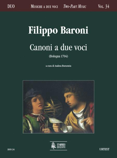 Canoni a due voci (Bologna 1704)