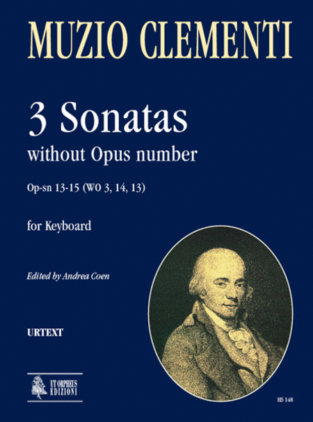 3 Sonatas without Opus number Op-sn 13-15 (WO 3, 14, 13)