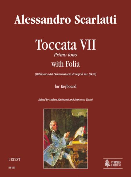 Toccata VII Primo tono with Folia (Biblioteca del Conservatorio di Napoli ms. 9478)