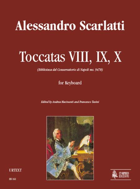 Toccatas VIII, IX, X (Biblioteca del Conservatorio di Napoli ms. 9478)
