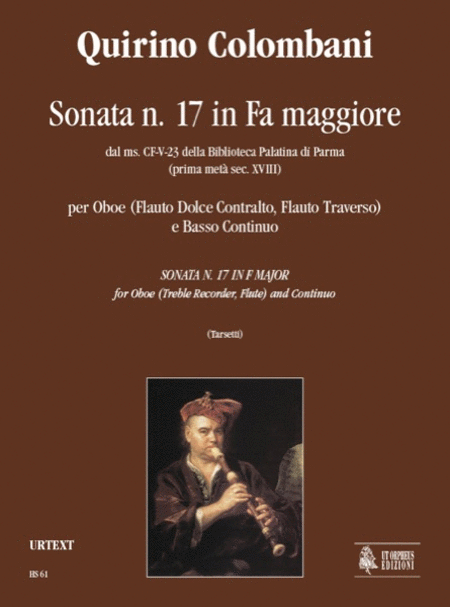 Sonata No. 17 in F Major from the ms. CF-V-23 of the Biblioteca Palatina in Parma (early 18th century)