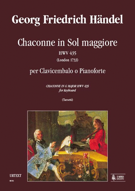 Chaconne in G Major HWV 435 (London 1733)