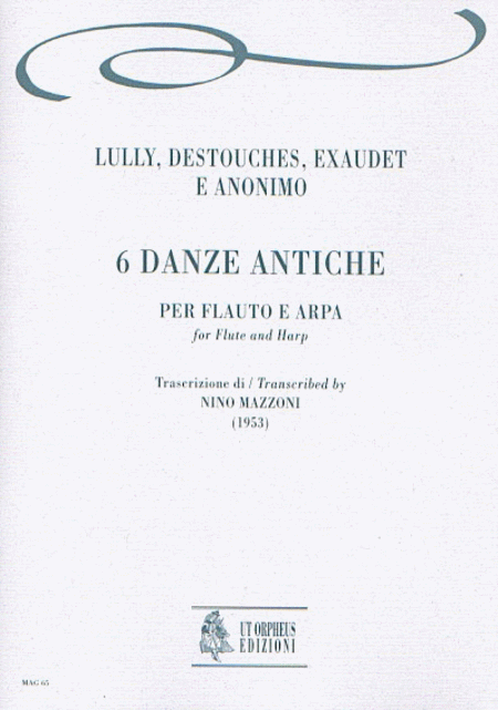 6 Early Dances. Transcription by Nino Mazzoni