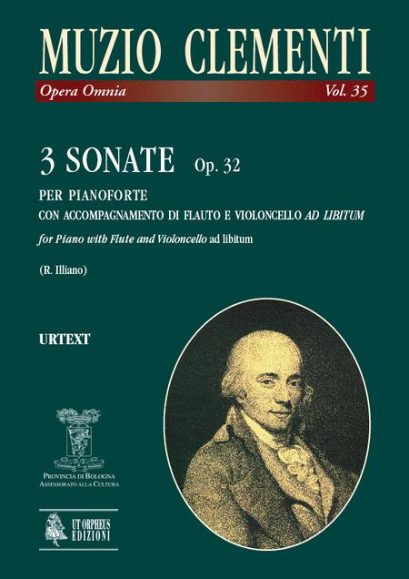 3 Sonatas Op. 32