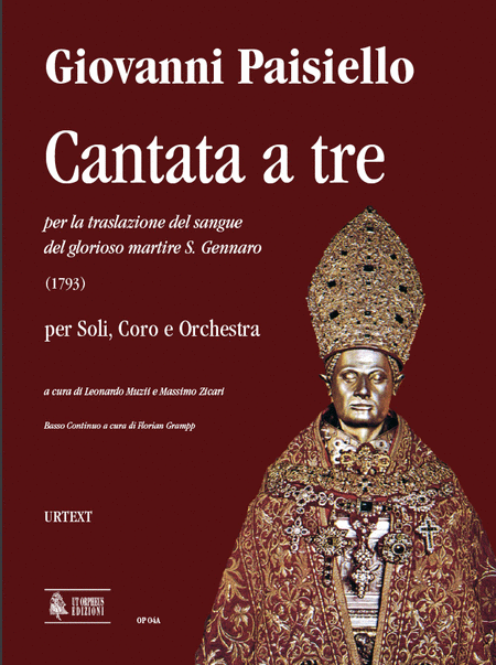 Cantata a tre per la traslazione del sangue del glorioso martire S. Gennaro (1793)