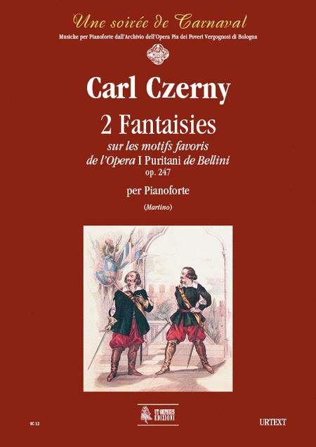 2 Fantaisies sur les motifs favoris de l'Opera