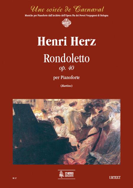 Rondoletto Op. 40