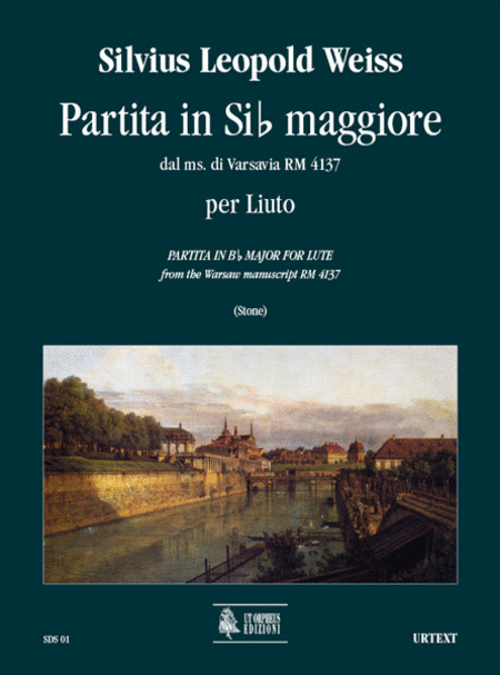 Partita in B flat Major from the Warsaw manuscript RM 4137