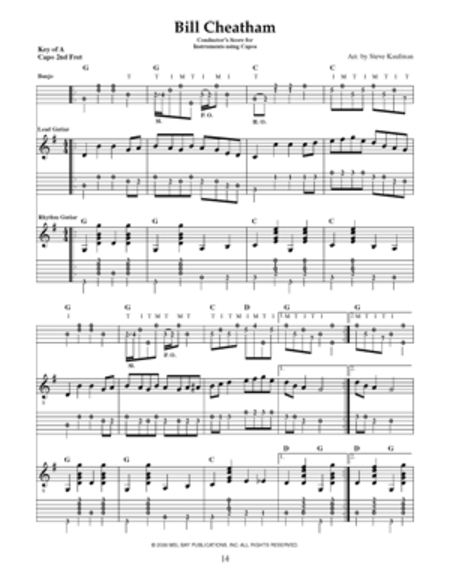 Band in a Book: Bluegrass Instrumentals