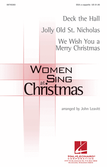 Women Sing at Christmas
