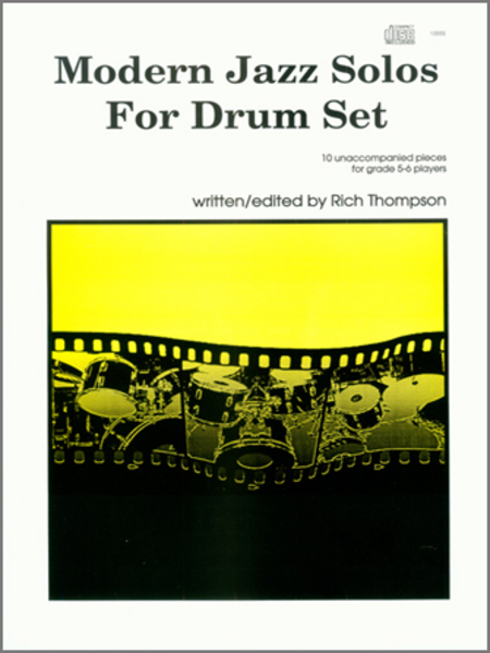 Modern Jazz Solos For Drum Set (Book w/CD)