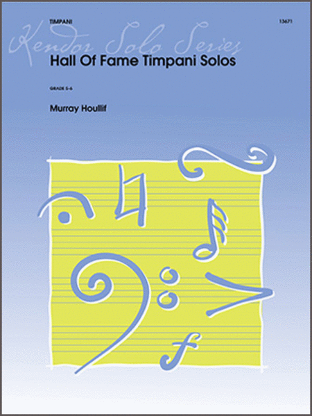 Hall of Fame Timpani Solos