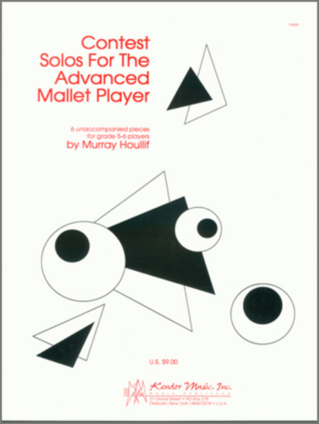 Contest Solos For The Advanced Mallet Player
